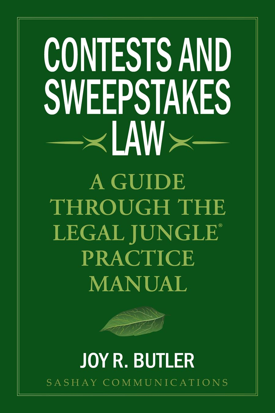 Contests and Sweepstakes Cover